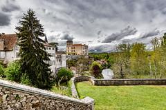 10-Château de Bourdeilles (Alain COSTE) Tags: 2019 bourdeilles dordogne nikon ocb périgordvert sigma20mmf14 printemps village france