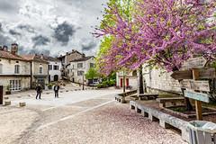 06-Place de la Grand-Rue (Alain COSTE) Tags: 2019 bourdeilles dordogne nikon ocb périgordvert sigma20mmf14 printemps village france