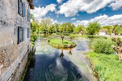 04-Ilôt (Alain COSTE) Tags: 2019 bourdeilles dordogne dronne nikon ocb périgordvert rivière sigma20mmf14 printemps village france