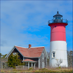 Nauset Light (Timothy Valentine) Tags: capecod 0419 large clichésaturday 2019 lighthouse eastham massachusetts unitedstatesofamerica