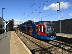 Stagecoach Supertram 399203 at Rotherham Central (Twydallaer) Tags: stagecoachsupertram rotherhamcentral 399203