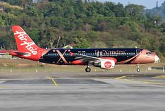 AirAsia Airbus A320-216 9M-AQM De'Xandra livery (EK056) Tags: airasia airbus a320216 9maqm dexandra livery langkawi international airport