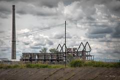 Kombinati Metalurgjik Remains in Elbasan, Albania (stevebfotos) Tags: elbasan albania kombinati metalurgjik pollution steel iron communism factory