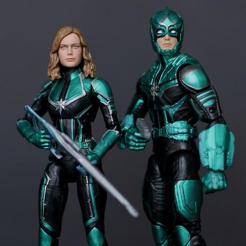 Captain Marvel and Yon-Rogg