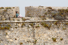 Study in Quiet _8071 (hkoons) Tags: iberianpeninsula prainhadesaopedro saltwater atlantic boulders castle city europe fortaleza harbor peniche people portugal swimming bathing bay beach beaches blue boat boats boulder catch citadel defense drink earth fish fisherman fishermen fishing fort fortalisa fortress hill home keep knights livelihood lord marine mote occupation ocean outdoors palace parapet port puddle recreation residence river rock rocks salt sand sea ship spray stone stones sun sunlight sunshine surf swim tower vessel village villagers walled walls water waves