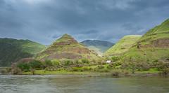 Snake River (Mark Polson) Tags: snakeriver canyon ranch barn water clouds sunshine
