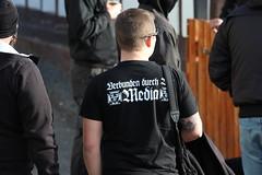 048 (timmoench2019) Tags: sturmwehr rechtsrock konzert neonazis nazis tommy frenck gasthaus zum goldenen löwen kloster vesra