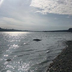 Cates Park (Whey-ah-Wichen), looking west across Burrard Inlet. (Stv.) Tags: ifttt instagram phoneography