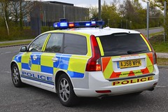 AJ58 WPK (S11 AUN) Tags: merseyside police volvo v50 d5 anpr traffic car roads policing unit rpu motor patrols 4x4 nwmpg northwestmotorwaypolicegroup 999 emergency vehicle aj58wpk