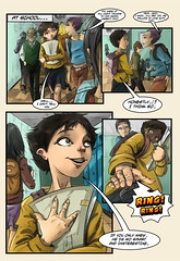 page_18 (ponchara80) Tags: comic page illustration draw love romance story comix comics digital art sheet fantastic fun funny