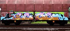 Graffiti on Freights (wojofoto) Tags: amsterdam nederland netherland holland graffiti streetart cargotrain vrachttrein freighttraingraffiti freighttrain freights fr8 wojofoto wolfgangjosten rece