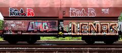 Graffiti on Freights (wojofoto) Tags: amsterdam nederland netherland holland graffiti streetart cargotrain vrachttrein freighttraingraffiti freighttrain freights fr8 wojofoto wolfgangjosten lenas railr