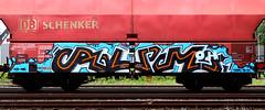 Graffiti on Freights (wojofoto) Tags: amsterdam nederland netherland holland graffiti streetart cargotrain vrachttrein freighttraingraffiti freighttrain freights fr8 wojofoto wolfgangjosten rum rumone
