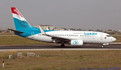 LX-LBT LMML 04-05-2019 Luxair - Luxembourg Airlines Boeing 737-7K2 cn 30371 (Burmarrad (Mark) Camenzuli Thank you for the 18.9) Tags: lxlbt lmml 04052019 luxair luxembourg airlines boeing 7377k2 cn 30371