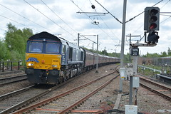 """Direct Rail Services Class 66/3, 66305 (37190 """"Dalzell"""") Tags: drs directrailservices revised compass tescotrain exfastline gm generalmotors dred class66 class663 class664 66305 bls branchlinesociety srps scottishrailwaypreservationsociety railtour thesundayshed chartertrain northwestern wigan"""
