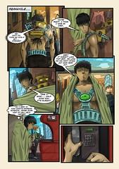 page_41 (ponchara80) Tags: comic page illustration draw love romance story comix comics digital art sheet fantastic fun funny