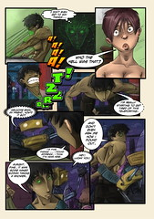 Page_45 (ponchara80) Tags: comic page illustration draw love romance story comix comics digital art sheet fantastic fun funny