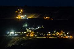 Braunkohle Tagebau Garzweiler (wb.fotografie) Tags: deutschland nordrheinwestfalen braunkohle tagebau rwe garzweiler nacht nachtaufnahme lichter