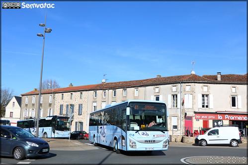 Iveco Bus Crossway - Scodec / Rds (Réseau des Deux-Sèvres)