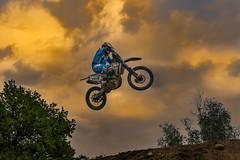Jump into the light (M-Gianca) Tags: sport moto motocross sony luce light motorcycle jump