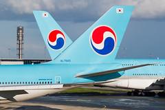 CDG   Korean Air Time (Olivier Mouhot) Tags: kal b748 cdg lfpg 2019may