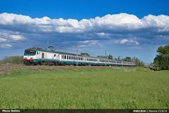 E402.016 (Marco Stellini) Tags: trenitalia fs ferrovie dello stato e402a intercity