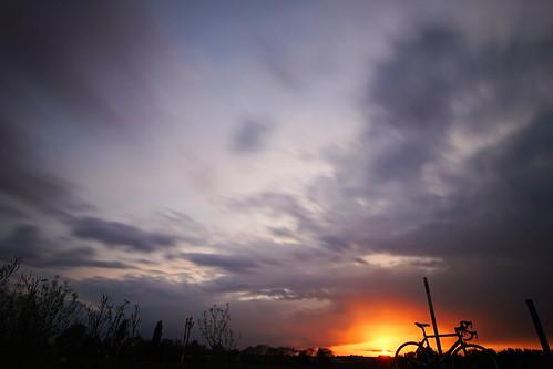 Radeln am Abend