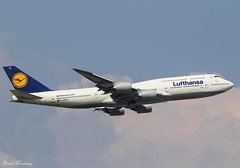 Lufthansa 747-8 D-ABYH (birrlad) Tags: frankfurt fra international airport germany aircraft aviation airplane airplanes airliner airline airlines airways takeoff departing departure runway lufthansa boeing b747 b748 747 7478 747830 dabyh