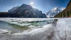 Lago di Braies / Pragser Wildsee (dieLeuchtturms) Tags: frühjahr schnee pragserwildsee 16x9 südtirol europa see italien dolomiten alpen bergsee adige alps altoadige dolomites dolomiti europe italia italy lagodibraies southtirol southtyrol lake snow spring braies bozen 20190419