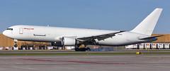 MSP N765CK (Moments In Flight) Tags: minneapolisstpaulinternationalairport msp kmsp mspairport boeing 767 767300 7673p6er b763 airplane aircargo cargoplane airfreight kalittaair n765ck cks592 dtwmsp