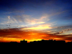 New York Sunset (dimaruss34) Tags: newyork brooklyn dmitriyfomenko image sky clouds skyline sunset