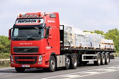 Apr 30 2019 A34 FH03VAT Pentagon (jon L1049H) Tags: trucks volvo a34 pentagon