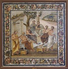 Academy of Plato (kate223332) Tags: pompeii mosaic museum archeology napoli italy philosophers romanmosaic