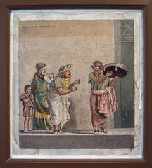 Travelling musicians (kate223332) Tags: pompeii mosaic museum archeology napoli italy villaofcicero romanmosaic