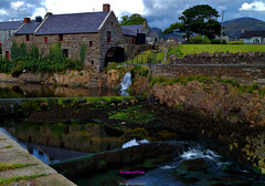 Annalong corn mill waterwheel (Photographs and Images of Northern Ireland) Tags: sunset sunrise northern ireland ulster county red hand orange views scenic waterfalls rivers golf courses fishing giants causeway tourists travel belfast derry londonderry brexit border antrim castle park walks tollymore forest