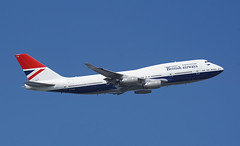 G-CIVB Heathrow 20-04-19 (IanL2) Tags: britishairways boeing 747 jumbo gcivb retro negus aircraft airliners london heathrow airport