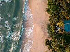 Hello down there (Klauss Egon) Tags: drone dji spark ubatuba sunrise praia beach waves ocean sea mar onda agua water
