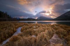 Vermilion Lake (Toni_pb) Tags: vermilionlake nikon nikkor1424f28 naturaleza nature canada canadianrockies rockies d850 nikond850 landscape clouds colors cloudy contrast