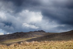 (OutdoorMonkey) Tags: dartmoor devon nationalpark cloud cloudy stormy moor moorland tor outcrop landscape cloudscape yestor outside outdoor rural nature natural scenic scenery countryside