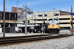 Depot Departure (Robby Gragg) Tags: cp fp9 1401 milwaukee