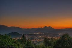 Dax Lueg Heuberg... (Augenblicke vom Salzburger u. Berchtesgadener Land) Tags: salzburg österreich natur landschaft sonnenuntergang abendrot heuberg daxlueg