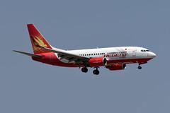Regent Airways Boeing 737-7V3(WL) S2-AHC (EK056) Tags: regent airways boeing 7377v3wl s2ahc bangkok suvarnabhumi airport