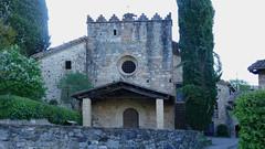 SANT ISCLE DE COLLTORT - ESGLESIA (Joan Biarnés) Tags: santiscledecolltort garrotxa girona 311 església sxiv panasonicfz1000