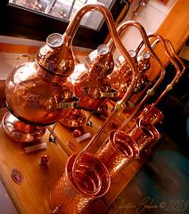Distillerie Straw Bale P1190317_Mini_WM (Twilight'Zone) Tags: distillerie strawbale vacquiers