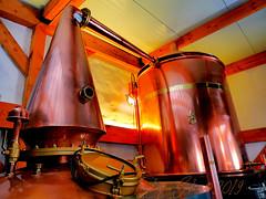 Distillerie Straw Bale P1190333_Big_WM (Twilight'Zone) Tags: distillerie strawbale vacquiers