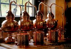 Distillerie Straw Bale P1190311_Mini_WM (Twilight'Zone) Tags: distillerie strawbale vacquiers