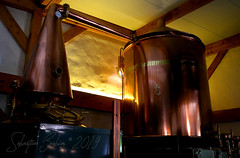Distillerie Straw Bale P1190308_Big_WM (Twilight'Zone) Tags: distillerie strawbale vacquiers