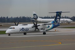 DHC-8 N434QX Seattle Tacoma 25.03.19 (jonf45 - 5 million views -Thank you) Tags: seattle tacoma airport ksea seatac airliner civil aircraft jet plane flight aviation flying usa march 2019 alaska airlines de havilland canada dhc8402q dash 8 n434qx