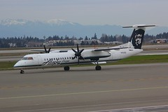 DHC-8 N404QX Seattle Tacoma 25.03.19 (jonf45 - 5 million views -Thank you) Tags: seattle tacoma airport ksea seatac airliner civil aircraft jet plane flight aviation flying usa march 2019 alaska airlines de havilland canada dhc8402q dash 8 n404qx