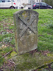 parish boundary marker (chrisinplymouth) Tags: marker stone boundarymarker parishboundarymarker carved plymouth devon xg england uk date historicalmarker parish city cw69x 1893 victoriapark urbio